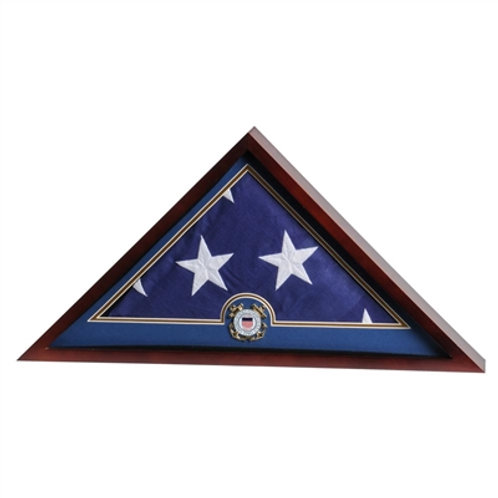 Coast Guard Casket Flag Case