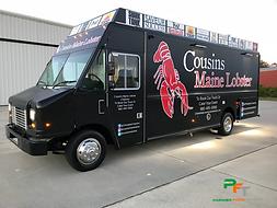 Xousins MAine Lobster Custom Food Truck
