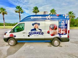 Quaker Oats Food Truck