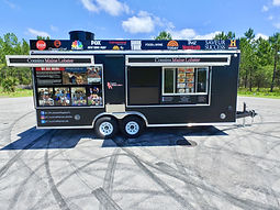 Custom Food Trailer For Sale