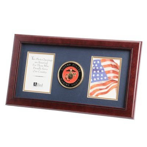 Picture FrameU.S. Marine Corps Medallion 4-Inch by