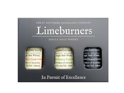 Limeburners Gift Pack - Port Cask, Sherry Cask, Peated