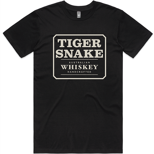 Tiger Snake T-Shirt (Black)