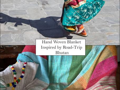 Blanket inspired by Bhutan Journey
