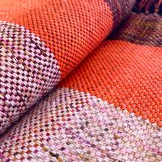 Hand woven blanket inspired Bhutan Festival.