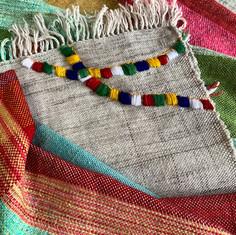 Bhutan festival Mongar inspired my handwoven blanket.