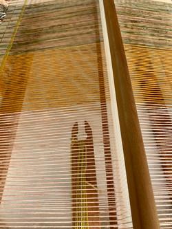 Rigid heddle loom.