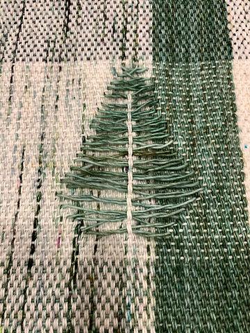 Artisan hand weaving blanket. Unique moti. Designer gift.f.
