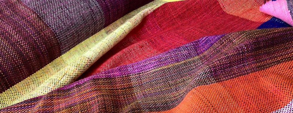 Hand woven artisan blanket