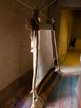 Loom in Morocco Julie Stephenson