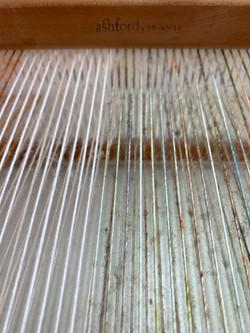 Warp on my Rigid Heddle Loom