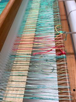 Warping my loom