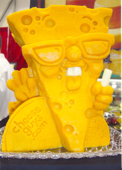 Cheese Guy Sculpture 2