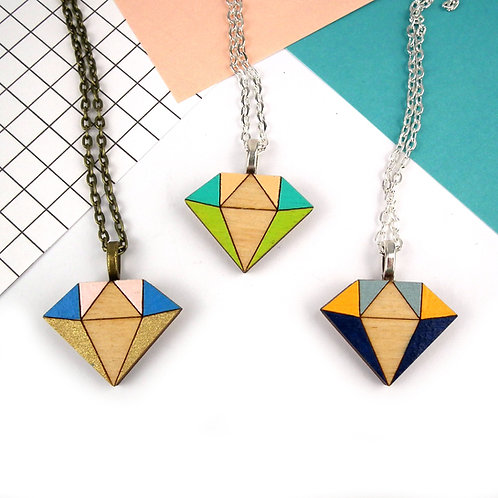 Diamond Crystal Necklace