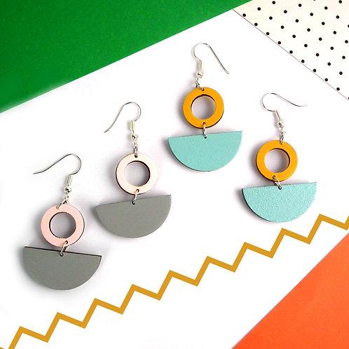 Lunar Drop Earrings
