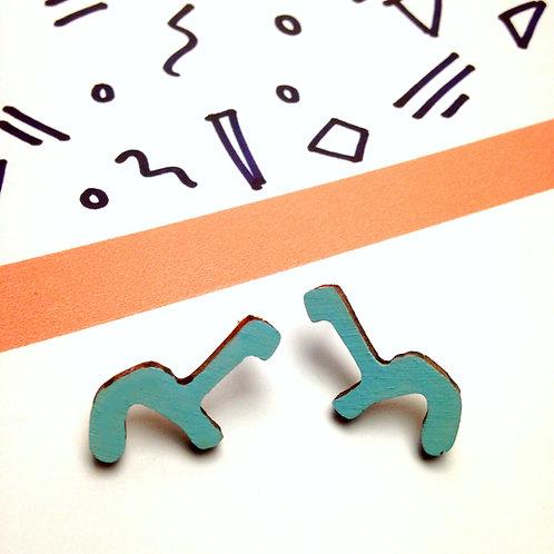 Dino Stud Earrings