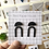 Thumbnail: Cleo Curve Brass Drop Earrings