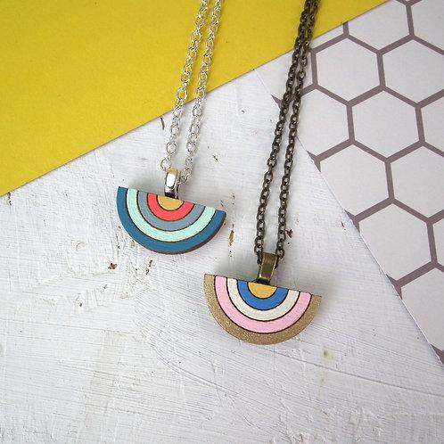 Mini Rainbow Necklace