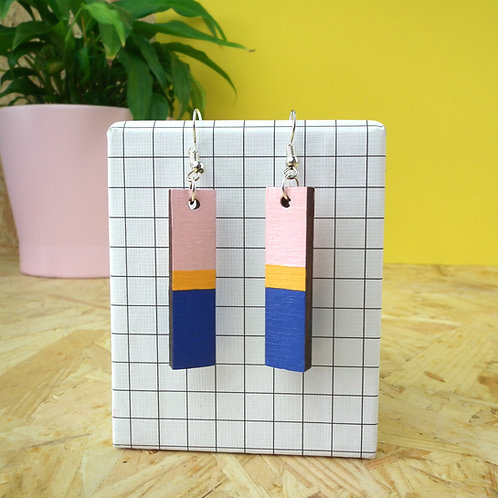 Bloc Drop Earrings