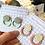 Thumbnail: Statement Geometric Cut Out Stud Earrimgs
