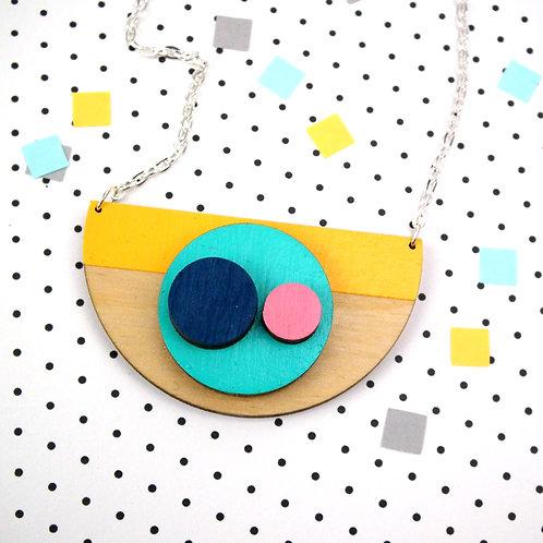 Orbis Semi Circle Necklace
