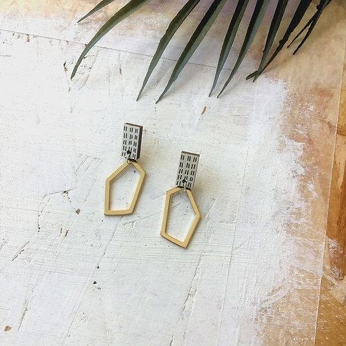 Rio Abstract Drop Earrings