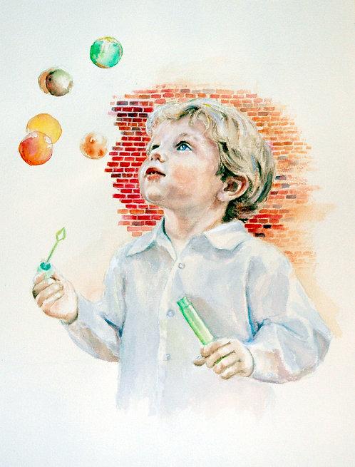 William and Bubbles