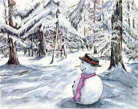 Snowman (Premium Prints)