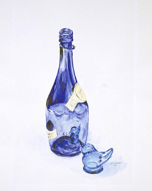 Blue Bird (Premium Prints)