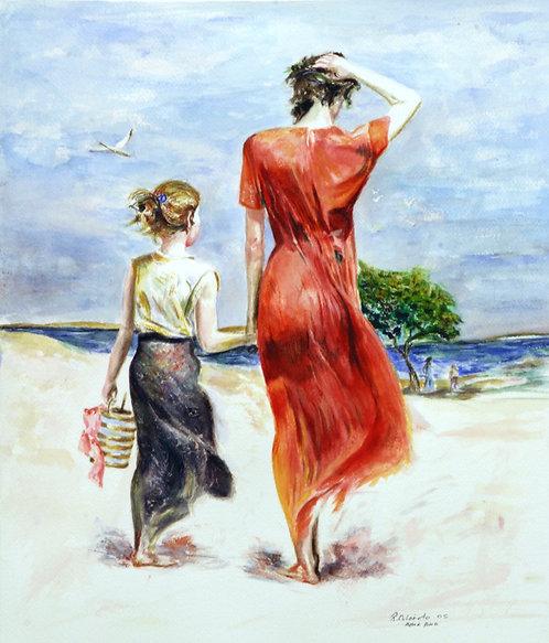 On The Beach (Premium Prints)