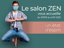Salon Zen à l'Espace Champerret Paris 17 -- du 30 sept. au 4 oct. 2021