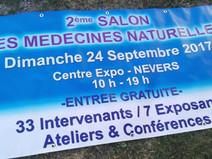Salon des Médecines Naturelles -- 24 sept.  à  Nevers (58)