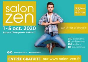 Salon Zen à l'Espace Champerret Paris (75017) -- du 1er au 5 octobre 2020