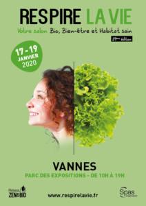 Salon Respire la Vie à Vannes (56) -- du 17 au 19 janvier