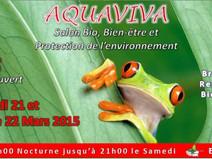 Salon Aquaviva -- Sens (Bourgogne) les 21 et 22 mars 2015