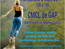 GAP (05) -- Dimanche 5 mars -- Salon du Bien-Être
