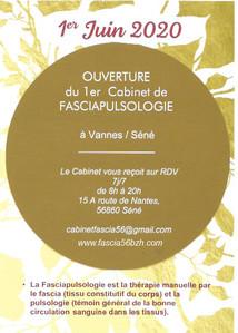 Cabinet de Fasciapulsologie à Vannes-Séné (56)