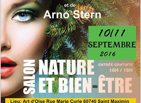 10 et 11 septembre Saint Maximin (Oise) --Salon du Bien-Être
