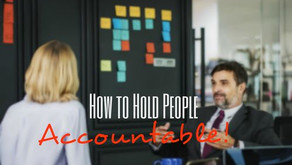 How to Hold People Accountable