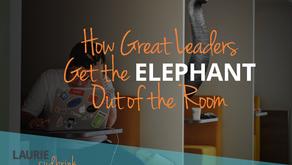 How Great Leaders Get the Elephant Out of the Room