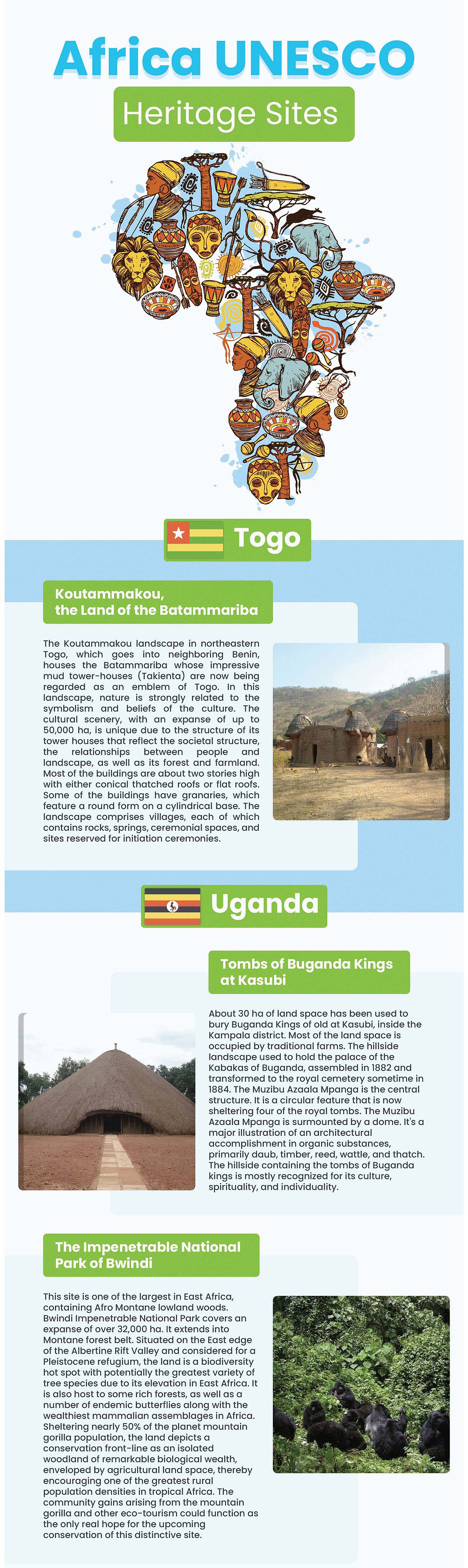 Africa UNESCO heritage sites