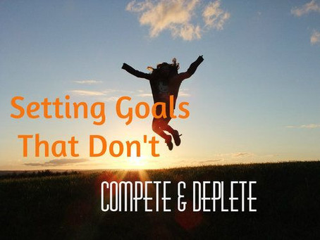 How to Set Goals That Don't Compete!