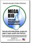 Mega Bio industrial-grade bacteria septic treatment