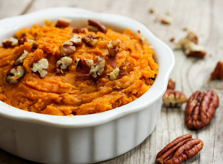 Sweet Potato and Almond Butter Breakfast Bowl (Whole 30 friendly)