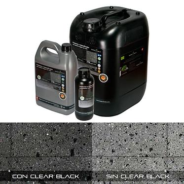 CLEAR BLACK Protector para piedras negras con veta Impershield.