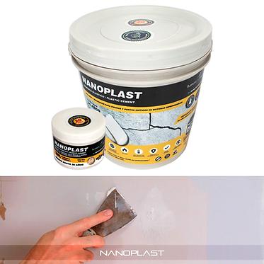 Nanoplast, sellador plastico para grietas Impershield.