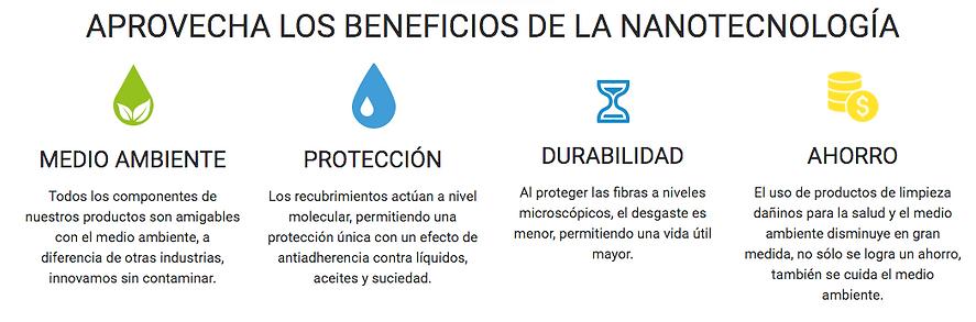 NanoX150 te brinda protecció, durabilidad, ahorro sin  descuidar el medio ambiente.