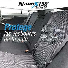 Protección Interior de Autos con Nanotecnología tela o piel