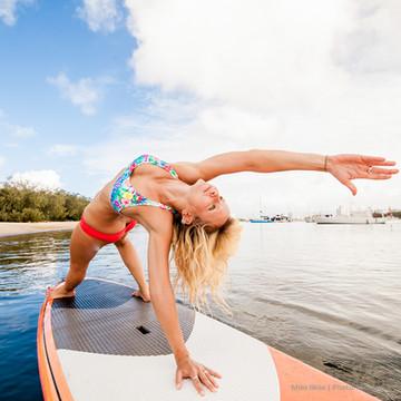 Nadine Lafleur Sydney SUP Yoga