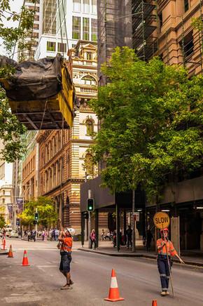 Sydney Road Work